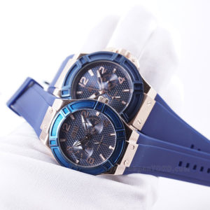 jam tangan Guess Blue Couple KW Super Grade +AAA Di Tangan 2
