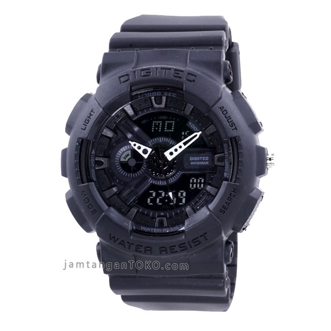 jam tangan digitec dg-2020t full black