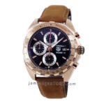 Formula 1 Rosegold Calibre 16 CAZ2010 Brown Leather