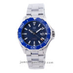 AQUARACER Automatic Date 43mm WAY211C.BA0928 Calibre 5 Blue