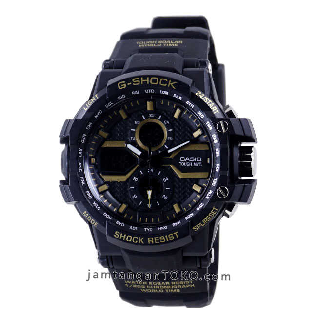 Jam tangan G-Shock X-Factor GW-A1000 Black Gold KW1