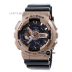 GA-110GD-9B2 Rose Gold Strap Hitam
