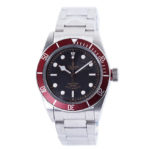 Heritage Black Bay Red Burgundy Tone Swiss