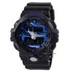 GA-710-1A2 Black Blue Metallic