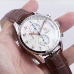 Carrera Heritage Chronometer Silver Brown