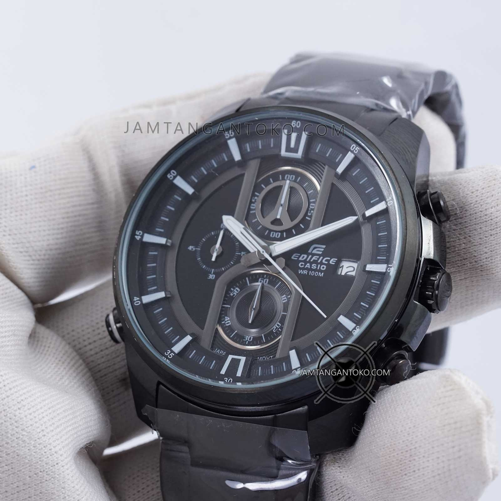 Casio Edifice Efr 539bk 1a2 Jam Tangan Pria Hitam Daftar Harga 101d 7avdf Stainless Steel White Lazada Indonesia Source