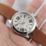 AM4638 Cecile Silver Brown Leather Original