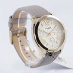 Cecile AM4529 Yellow Gold – Grey Leather Original