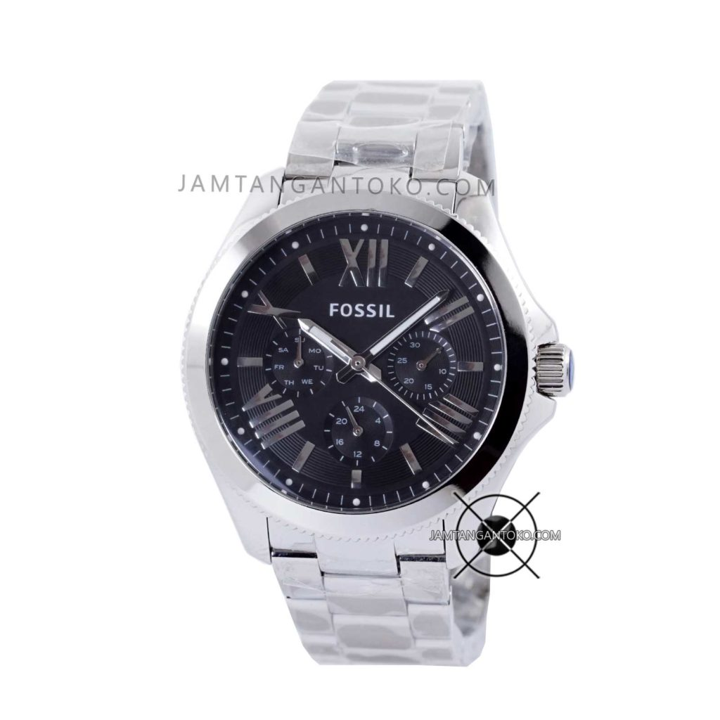 Jam tangan Fossil Cecile AM4534 Stainless Steel Silver