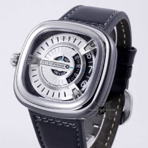 SevenFriday M-Series M1-01 Silver Black Replika Mirror