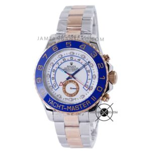 Yacht Master II Silver Rose Gold 116681