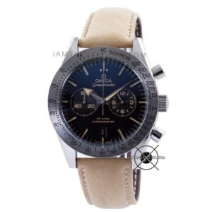 Speedmaster 57 Chronograph Soft Brown Leather