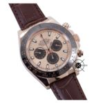 Cosmograph DAYTONA Brown Rose Gold Leather