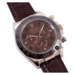 Cosmograph Daytona Automatic Brown Everose Gold Leather