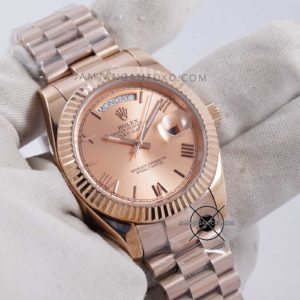 Rolex Day-Date 40 Automatic Full Rose Gold KW Super Hands ON 1