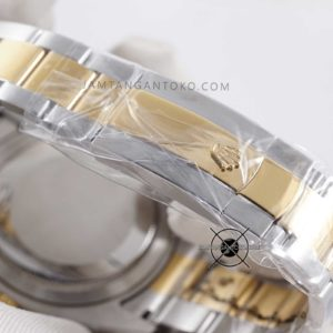 Rolex Sky-Dweller KW Super Gold Silver Bagian Clasp