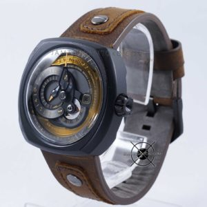 Sevenfriday Q-Series Choo-Choo Q2-03 Automatic Clone Original Bagian Samping 1