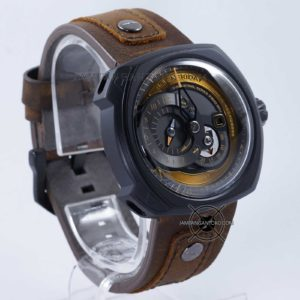 Sevenfriday Q-Series Choo-Choo Q2-03 Automatic Clone Original Bagian Samping 2