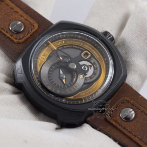 Sevenfriday Q-Series Choo-Choo Q2-03 Automatic Clone Original Hands ON 1