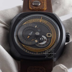 Sevenfriday Q-Series Choo-Choo Q2-03 Automatic Clone Original Hands ON 2