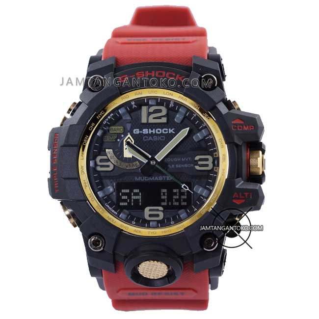 G-Shock GWG-1000GB-4A ORI BM Red and GOLD HOT ROD Special Edition