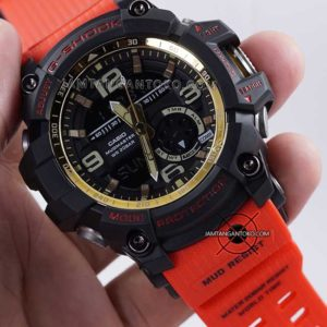 Jam G-Shock GG-1000GB-4A Red and Gold HOT ROD ORI BM Hands ON 2