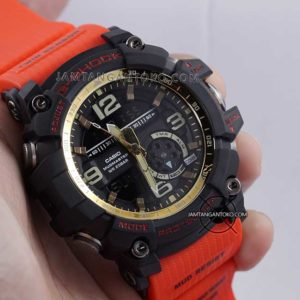Jam G-Shock GG-1000GB-4A Red and Gold HOT ROD ORI BM Hands ON