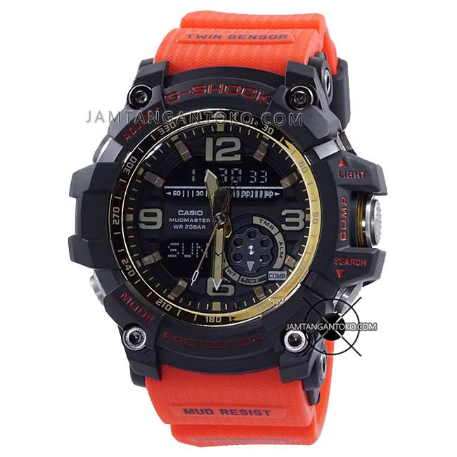 Jam G-Shock GG-1000GB-4A Red and Gold HOT ROD ORI BM
