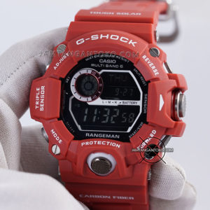 G-Shock Rangeman Merah GW-9400RD-4 Ori BM Hands ON 2