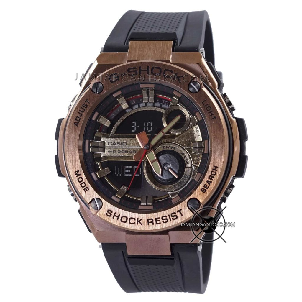 GST-210B-4A G-Steel Ori BM Rose Gold