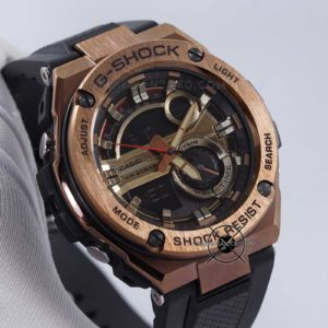 GST-210B-4A G-Steel Ori BM Rose Gold Hands ON 3