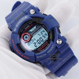G-Shock FROGMAN GWF-1000NV-2 Biru Navy Ori BM Hands ON 2