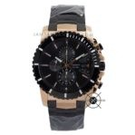 AC 6455 MC Rantai Black Rose Gold