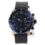AC 6410 Blue Rose Gold Kulit Hitam