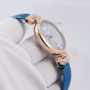 Alexandre Christie LADIES AC 2757 LD Blue Rose Gold Bagian Samping 2