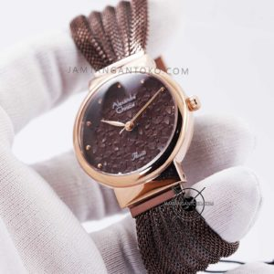Alexandre Christie Wanita AC 2779 LH Brown Mesh Hands ON 3