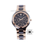 LADIES AC 2299 BF Black Rose Gold Ceramic