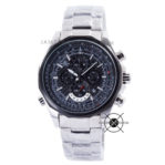 EFR-507D-1A1 Silver Black Dial Aviation Series