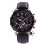 EFR-554BGL-1A Leather Black Rose Gold