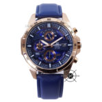 EFR-556L-2AV Blue Rose Gold Leather Series