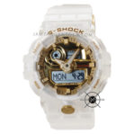 GA-735E-7A Glacier Gold Putih Jelly 35th Anniversary Limited Edition