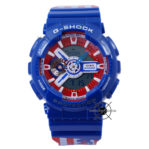 x Marvel GA-110CAPTAIN-2PR Blue Red Captain America