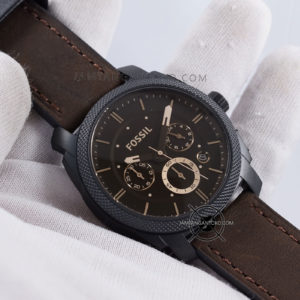 FOSSIL Machine Mid-Size Pria FS4656 Chronograph Hands ON 1