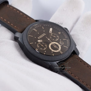 FOSSIL Machine Mid-Size Pria FS4656 Chronograph Hands ON 2