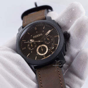 FOSSIL Machine Mid-Size Pria FS4656 Chronograph Hands ON 3