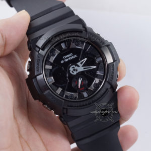 G Shock GA-201-1A Fullblack Ori BM Hands ON 1