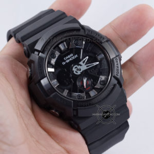 G Shock GA-201-1A Fullblack Ori BM Hands ON 2