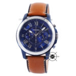 Grant Chronograph FS5151 Brown Blue Chrome
