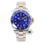 Submariner Date Combi Silver Gold Blue Dial Ceramic Bezel 43mm