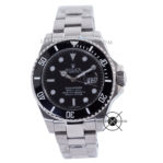 Submariner Date Silver Black Dial Ceramic Bezel 43mm